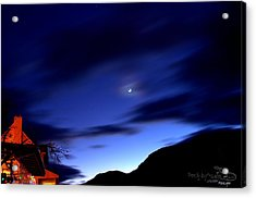 Acrylic Print featuring the photograph Moonlight by Guy Hoffman