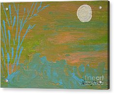 Moonlight In The Wild Acrylic Print