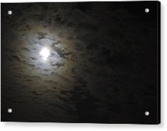 Acrylic Print featuring the photograph Moonlight by Marilyn Wilson