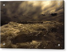 Moonlight On The Water Acrylic Print by Bob Orsillo