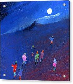 Moonlight Ramble Acrylic Print by Neil McBride