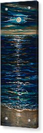 Moonlight Reflection Acrylic Print
