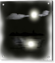 Moonlight Acrylic Print by Shanna Hare