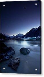 Moonlight Acrylic Print by Yan Zhang