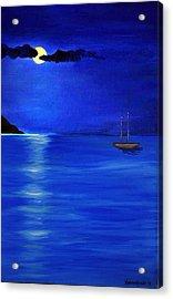 Moonligth Acrylic Print by Kostas Koutsoukanidis