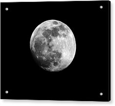 Moonlit Dreams Acrylic Print by Chris Fraser