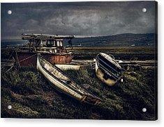 Moonlit Estuary Acrylic Print