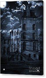 Moonlit Fonthill Acrylic Print