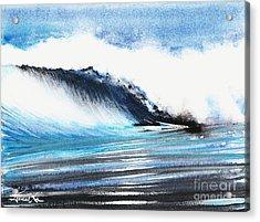 Moonlit Ocean Acrylic Print