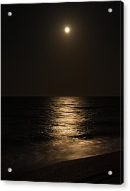 Moon Over Water Acrylic Print