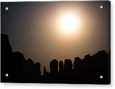 Moonrise Over Eden Acrylic Print