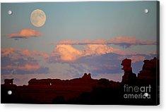 Moonrise Over Goblins Acrylic Print