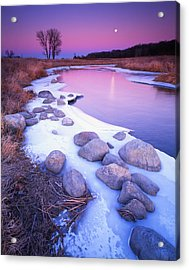 Moonrise Acrylic Print by Ray Mathis