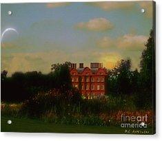 Moonrise - Sunset Acrylic Print by RC DeWinter