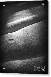 Moonscape Acrylic Print by C Ray  Roth