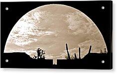 Moonscape Acrylic Print