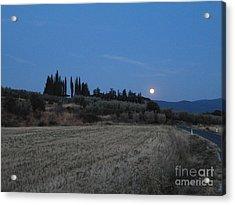 Moonshine In Arezzo Acrylic Print