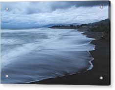Moonstone Beach Surf 2 Acrylic Print