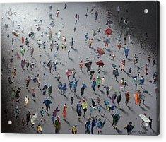 Moonwalk Acrylic Print by Neil McBride