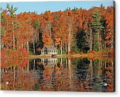 Moore State Park Autumn I Acrylic Print