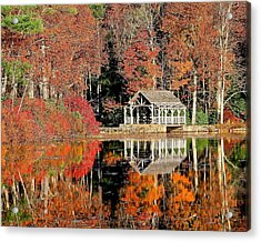 Moore State Park Autumn II Acrylic Print