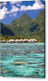 Moorea Lagoon No 3 Acrylic Print