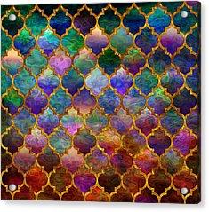 Moorish Mosaic Acrylic Print