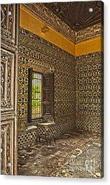 Moorish Room Inside The Alcazar Reales Acrylic Print by Patricia Hofmeester