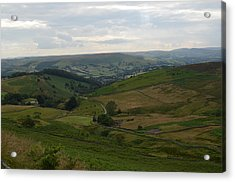 Acrylic Print featuring the photograph Moors Of England by Karen Kersey