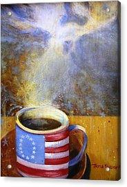 Moose Americana Acrylic Print