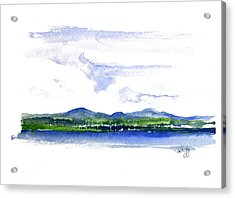 Moosehead Lake Acrylic Print