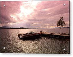 Moosehead Lake Acrylic Print by Ryan Hord