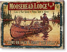 Moosehead Lodge Acrylic Print