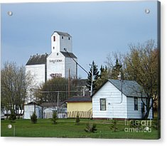 Moosomin - Saskatchewan - Canada Acrylic Print by Phil Banks