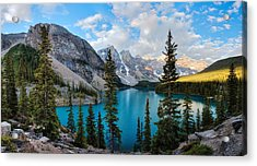 Moraine Acrylic Print by David Andersen