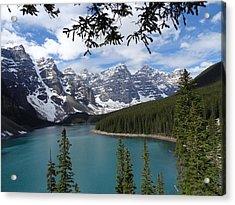 Moraine Lake Alberta Canada Acrylic Print