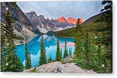 Moraine Lake Banff National Park Acrylic Print