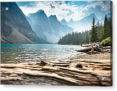 Moraine Lake In Banff National Park - Canada Acrylic Print by Franckreporter