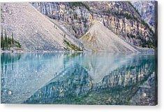Moraine Lake Panorama A Acrylic Print
