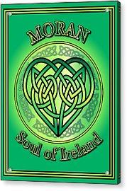 Moran Soul Of Ireland Acrylic Print
