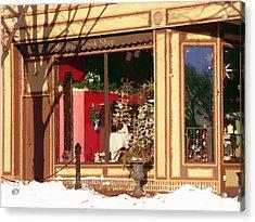 Moravian Book Shop Bethlehem Pa Acrylic Print