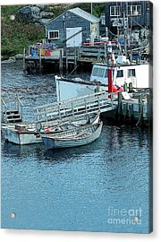 More Boats Acrylic Print by Kathleen Struckle