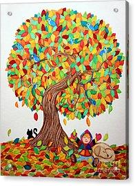 More Fall Fun Acrylic Print