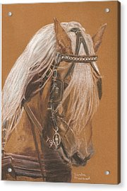 More From Fer A Cheval Acrylic Print