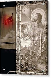 More Prayers For The Nation Acrylic Print by Joe Jake Pratt