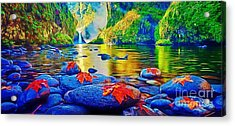 More Realistic Version Acrylic Print