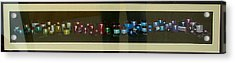 Acrylic Print featuring the drawing More Spools by Joseph Hawkins