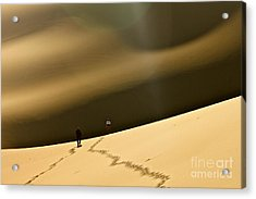 More Stars Than Sand Acrylic Print by Michael Cinnamond