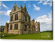 Moreton Corbet Castle 2 Acrylic Print by Sheila Laurens