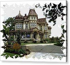Morley Mansion Acrylic Print